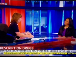 Dr Daisy on Sky News with Kay Burley discussing prescription medication