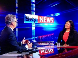 Media- Dr Daisy on Sky News with Martin Stanford discussing e-cigarettes - 2