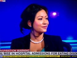 On Sky News discussing Eating Disorders