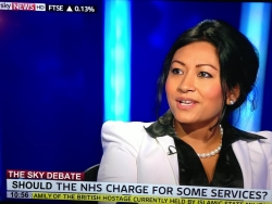 Answering questions about the NHS charging for appointments