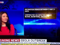 Dr Daisy discussing the Ebola Outbreak on Sky News with Kay Burley