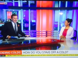 Dr Daisy on Sky News discussing avoiding colds