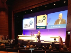 Dr Daisy at the BMA Annual ...