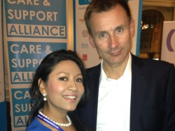 Dr Daisy with Jeremy Hunt