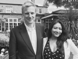 Dr Daisy with Zac Goldsmith MP and London Mayoral candidate.